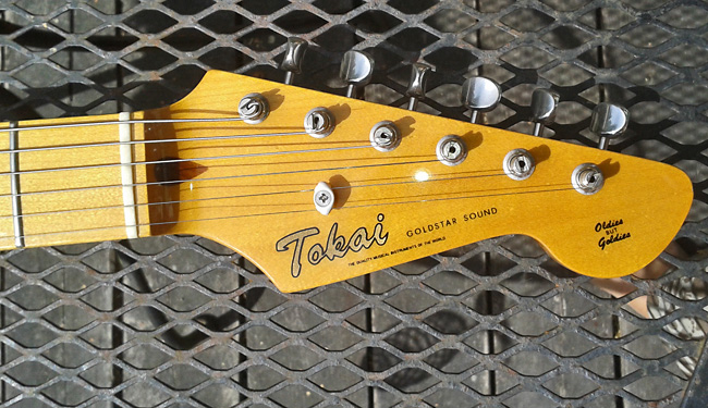 Tokai Japan Goldstar reissue